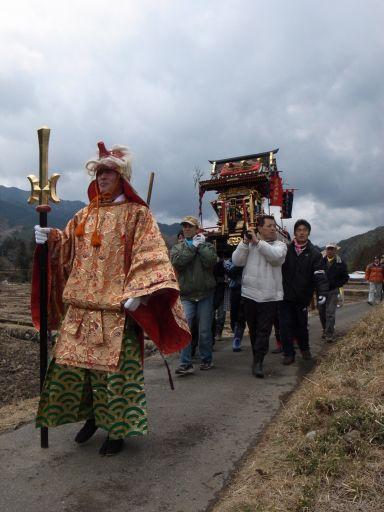 大杉神社のアンバ様(鹿沼市 板荷)