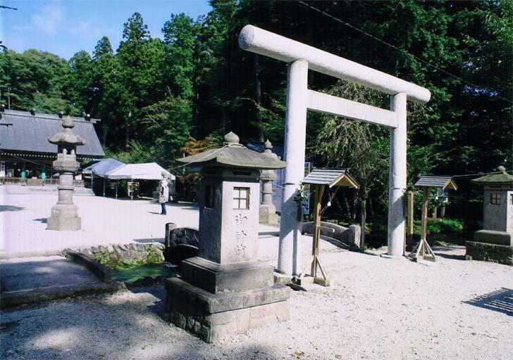 乃木神社と蟇沼用水(那須塩原市 石林)