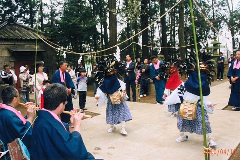 熊野神社 −野渡のささら獅子舞−(野木町 野渡)