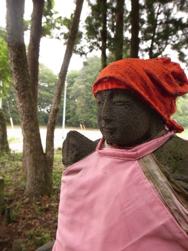 「浮島地蔵」の伝説と鬼怒川の環境保全(さくら市 大中)