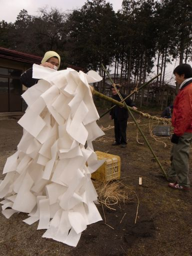 加茂神社の梵天祭(高根沢町 桑窪)