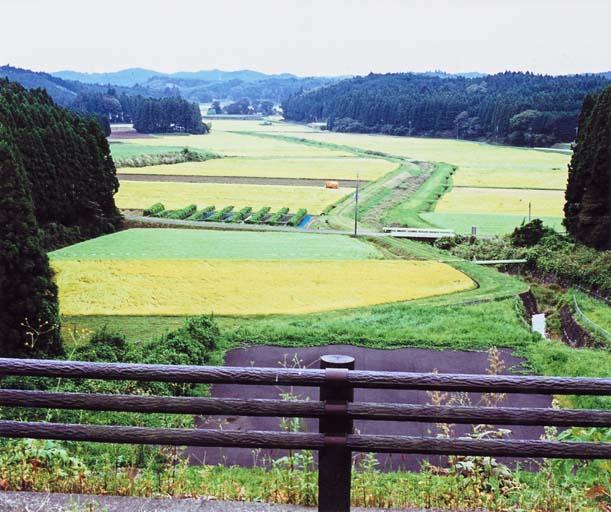 塩田ダムからの観望(矢板市 塩田)