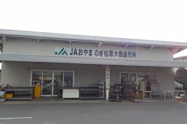 JAおやま のぎ松原大橋直売所