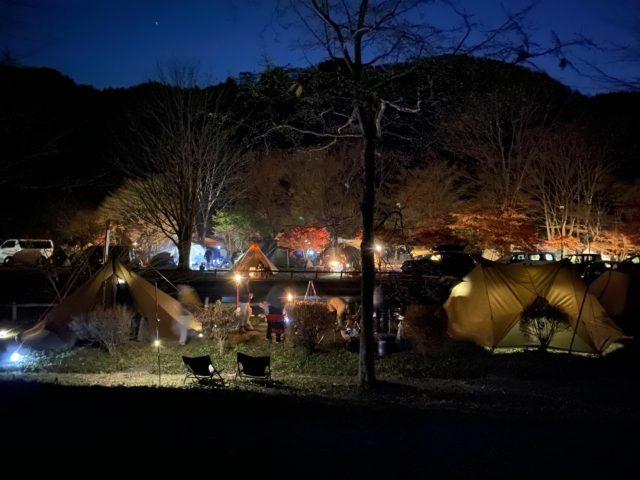 東古屋キャンプ場