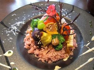 野菜のちらし寿司
