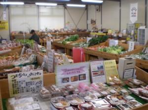 JA足利の農産物直売所「あんあん弥生」