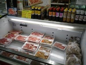 直売所の様子(肉)