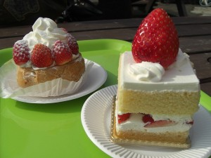 ケーキ2つ