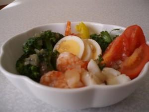 野菜&魚介サラダ