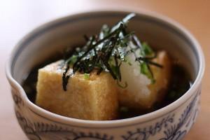 あやめの「揚げ出し豆腐」