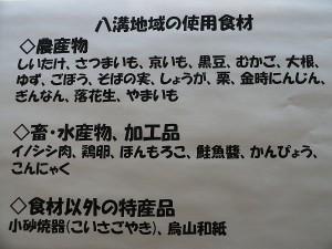 おせち食材リスト