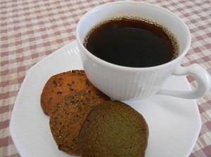 ゆめかおりクッキーとコーヒー