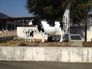 牛の親子象