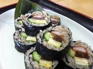 そば寿司①