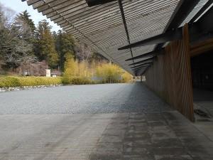 広重美術館庭