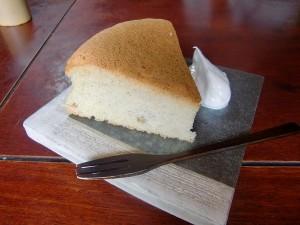 自家製そばケーキ