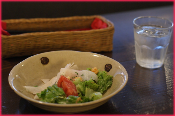 壬生町産新鮮野菜の前菜