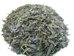 製茶した茶葉