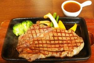 栃木県産牛ステーキ