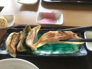 餃子定食2