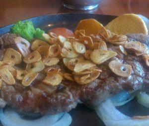 大田原の牛肉を食べに行きました!(那須塩原市 ステーキ万葉)