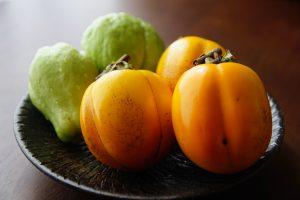 隼人瓜と柿
