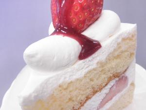 いちごのショートケーキアップ