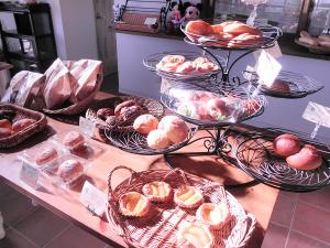 菓子パンたち