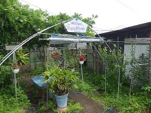 農園の入り口