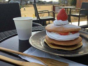 写真3いちごどらケーキ