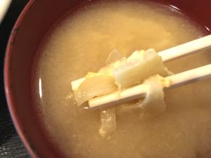 かんぴょうのお味噌汁